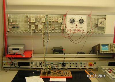 IC-gesteuerte Lüfterregelung im Labor