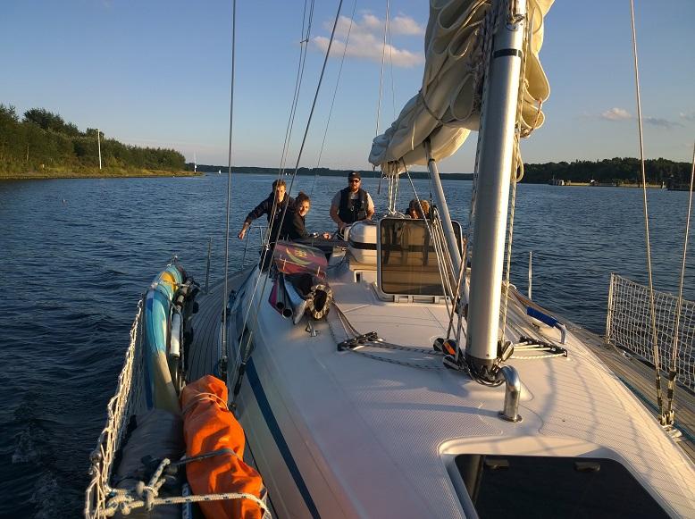 Ausbildungstörn nach Stynø
