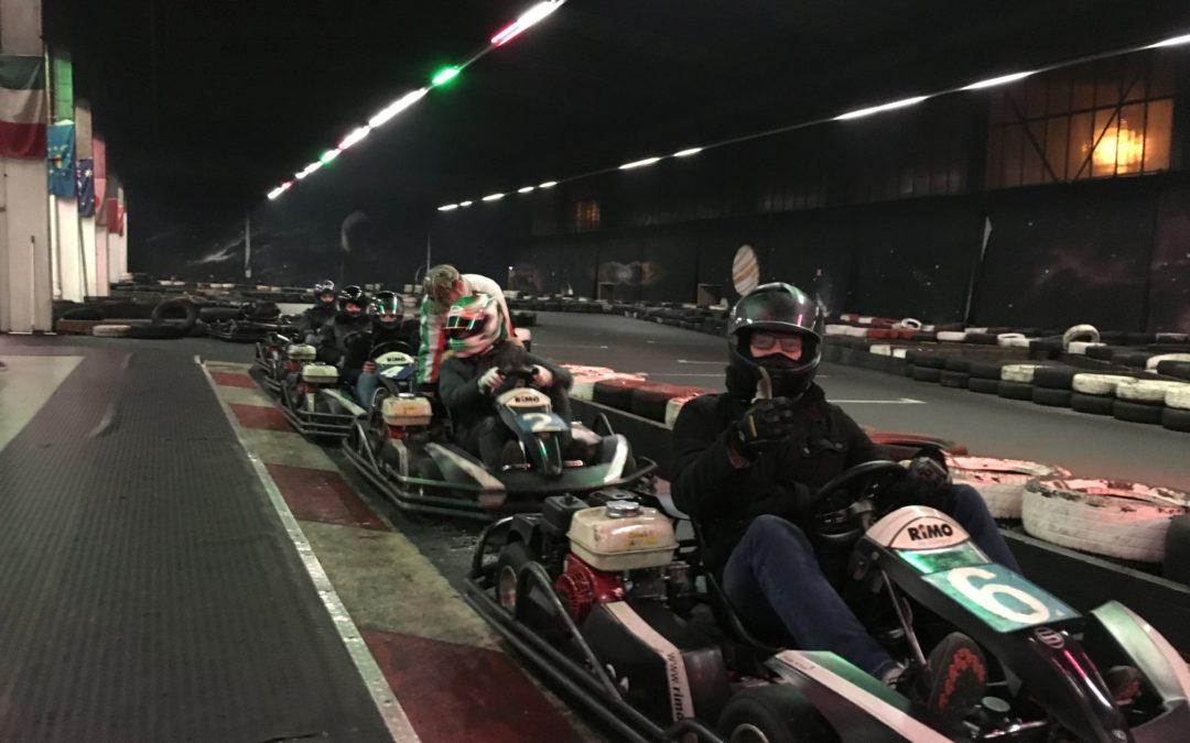 Kartfahren mit der Km 16