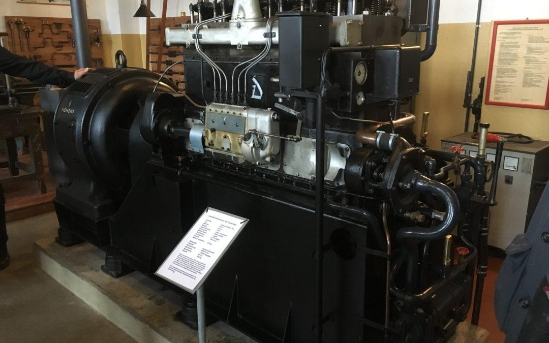 Km 16 im Motorenmuseum in Kiel